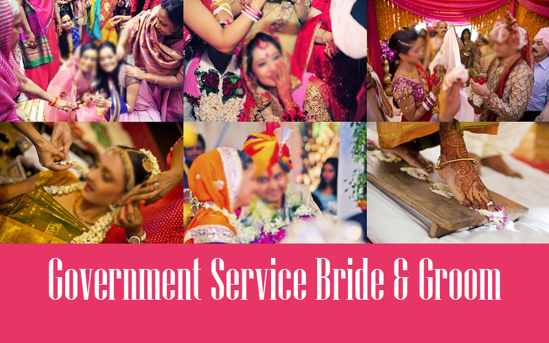 Government Service Bride & Groom