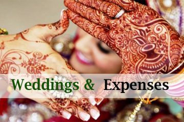 Weddings And Expenses
